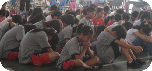 summer camp prayer