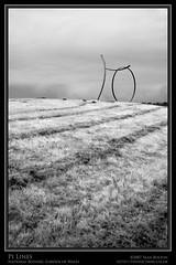 Pi Lines (Sean Bolton (no longer active)) Tags: sculpture wales garden carmarthenshire cymru pi botanic wfc sirgâr seanbolton welshflickrcymru ffotocymrucouk nationalbotanicgradenofwales ffotocymru