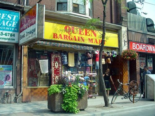 Queen Bargain Mart