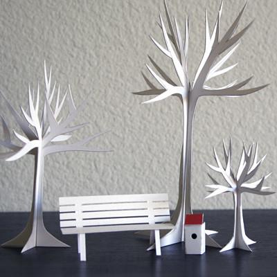 How do you make model trees   ? | Yahoo Answers