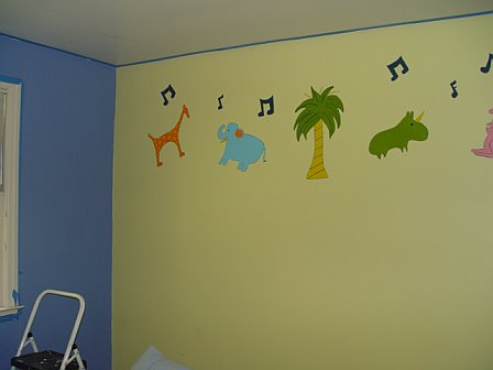 "Old ""baby"" room"