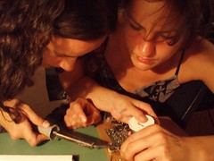Anna and tatiana circuit bending