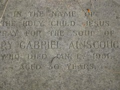 Mary Gabriel (Finch) Ainscough