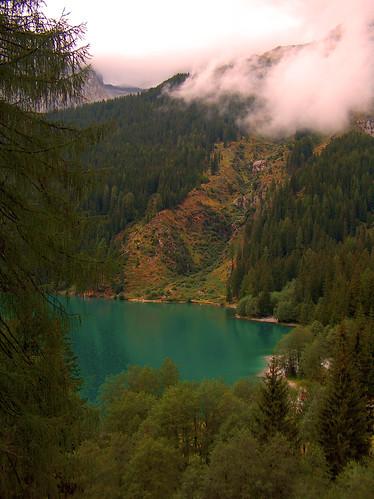 Foto Lago di Anterselva in Val Pusteria Alto Adige Italia