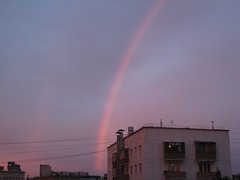 Rainbow out my Window
