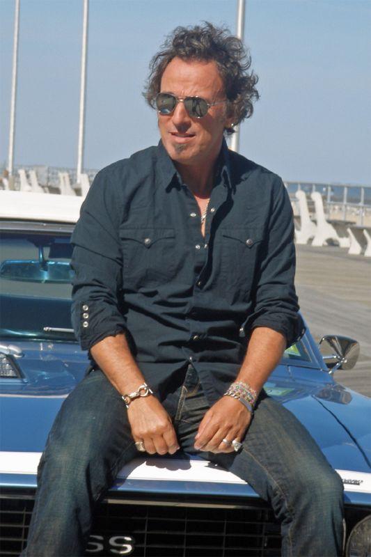 Bruce Springsteen en Asbury Park
