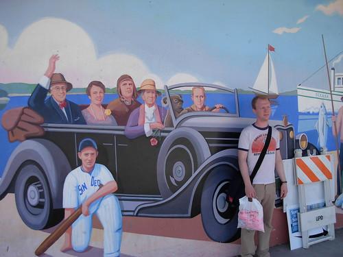 sailboat mural sandiego koala fdr