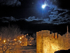 Bishop's Castle To The Moonlight (Kiky01) Tags: life sky panorama moon building castle night clouds landscape heaven tallinn estonia artistic expression baltic soviet vista moonlight inspire oldtown veduta bishop paesaggio tallin eesti episcopalchurch 13thcentury bishopscastle walledtown haapsalu esthonia baltico tsarpeteri supershot passionphotography platinumphoto diamondclassphotographer excapture italianflickrworld balticrepublic saarelnediocese top20vivid