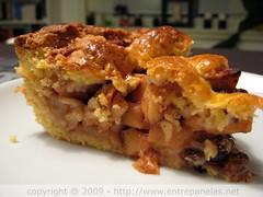 Appeltaart - Torta de maçã holandesa