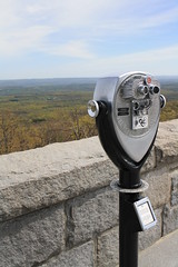 Coin-Operated Binoculars (Itinerant Wanderer) Tags: monument newjersey view highpointstatepark sussexcounty coinoperatedbinoculars