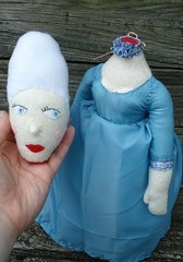 Headless Marie doll (Silent Orchid) Tags: headless toy stuffed doll handmade plush etsy decapitated