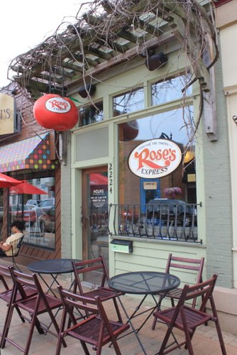Rose's Kitchen in Gaslight Village, East Grand Rapids, MI