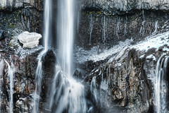 The Icy Part of the Waterfall (Stuck in Customs) Tags: world travel snow cold ice water rock japan photography blog high asia stream dynamic stuck falls photograph waterfalls april nikko range hdr trey tochigi kanto travelblog customs 2010 textural honshu  nikk ratcliff  tochigiprefecture tochigiken honsh nikkshi hdrtutorial stuckincustoms  treyratcliff kant kantchih photographyblog stuckincustomscom nikond3x