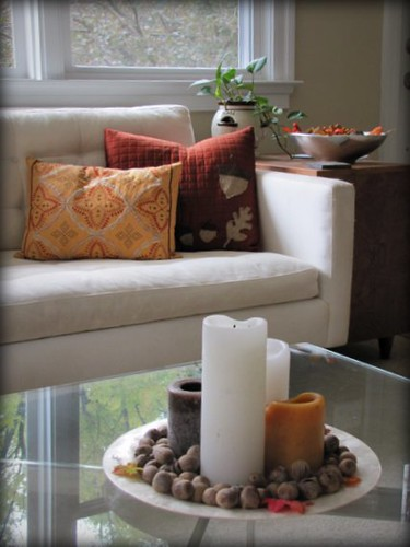 Fall Candles & Pillows