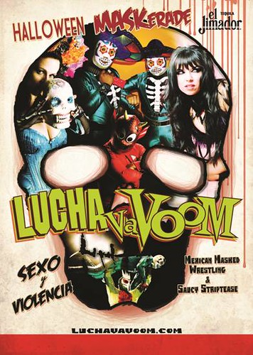 October 24: LUCHA VA VOOM Halloween Party — Mexican Masked Wrestling, Saucy Striptease & Comedy Show @ Roseland