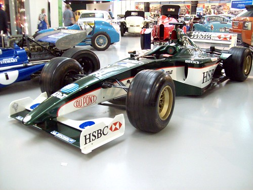 224 Jaguar R1 (R4) Formula One (2001)