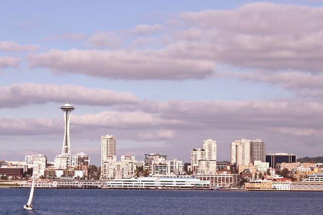 Janelle's Seattle skyline