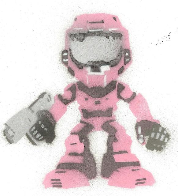 halo - pink