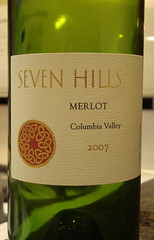 2007 Seven Hills Merlot