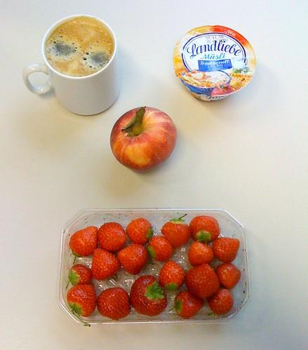 Royal Gala, Erdbeeren & Landiebe Müsli Joghurt