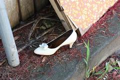 runaway (robynejay) Tags: trash shoe