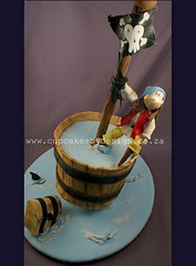 Ahoy Maties...... (Dot Klerck....) Tags: sea cake southafrica boat capetown dot pirate crowsnest treasurechest boyscakes cupcakesbydesign