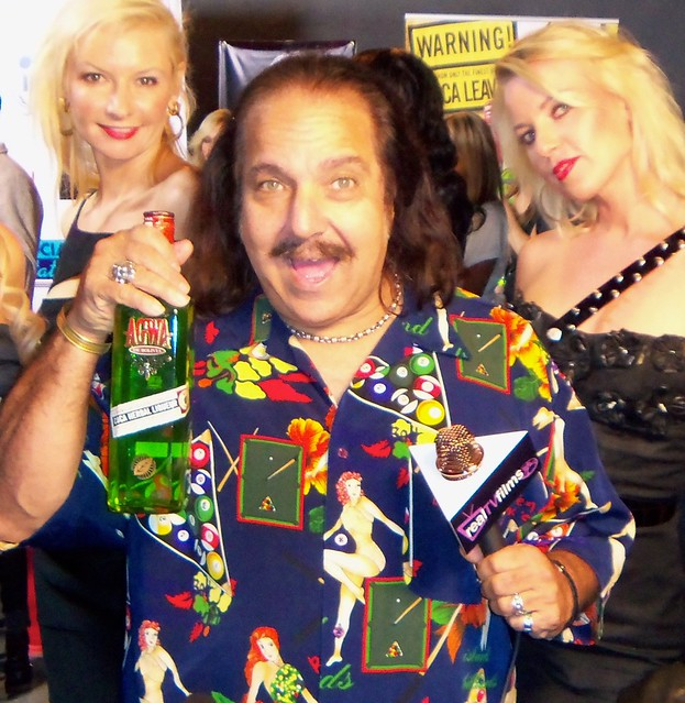 Ron Jeremy, AGWA Liqueur, The Reality Bash