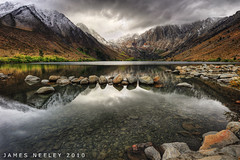 Break Through (James Neeley) Tags: california storm landscape hdr convictlake supershot 5xp jamesneeley