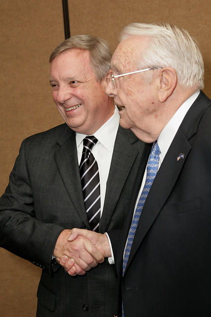 Senator Durbin and Former Governor Wendell Ford