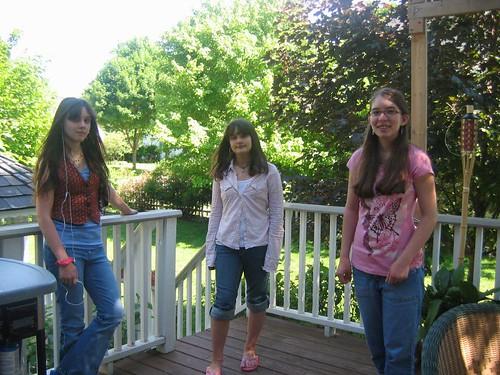 Tess, Hannah & Mollie