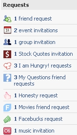 All My Facebook Requests