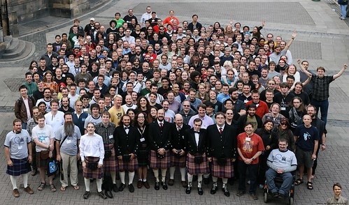 Debconf 7 Group Photo