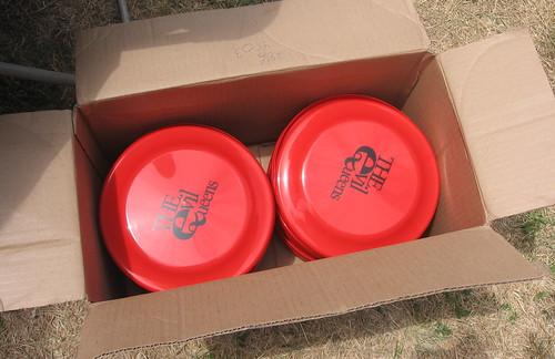 Evil Queens frisbees