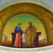 Nazareth - St. Joseph Church - St. Mary and St. Joseph with young Jesus