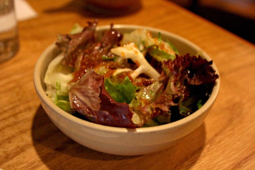 An Overly Salty Salad...