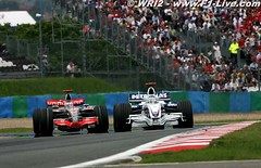 GP Francia - Alonso vs Heidfeld
