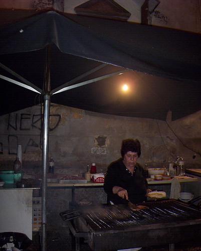 Zia Pina en Palermo, Sicilia
