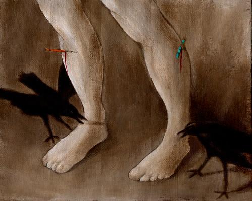 st sebastian feet