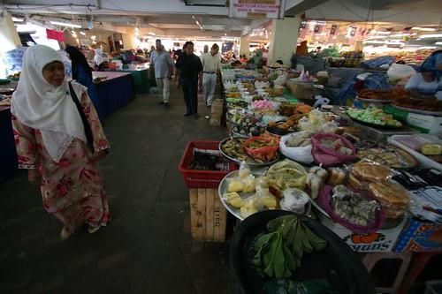 Kuala Terengganu market...