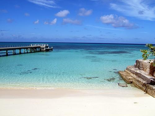 beautiful beach, sky bridge by batman_hood.
