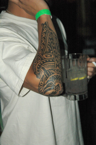 filipino tribal tattoo. belongs to a Filipino tribe .