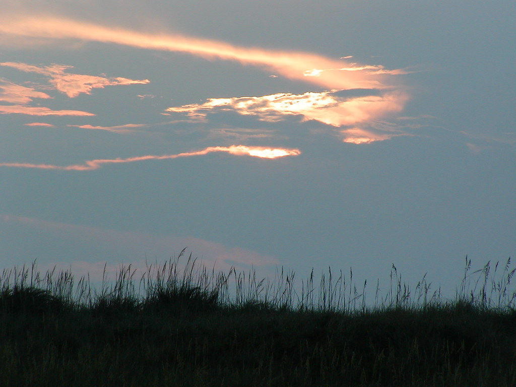 Sunrise at the Cape Hatteras National Seashore