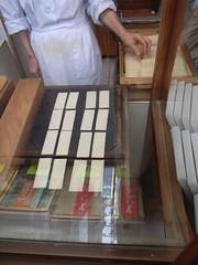 Yatsuhashi making