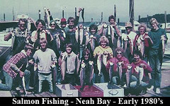 14 - Salmon Fishing - 1980s (expatnomad) Tags: family years through harder