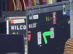 Wilco amps at Edgefield show