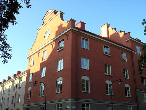 House in Falugatan, Stockholm 1.