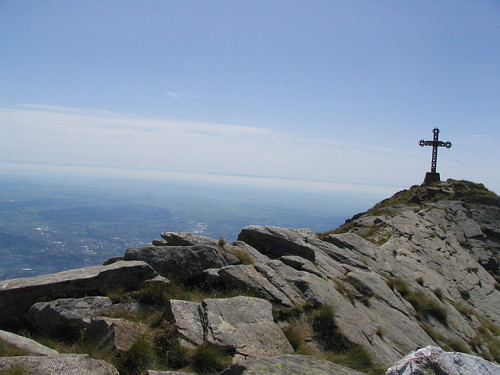 La cima del Mucrone