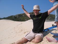 Nate Sandboarding