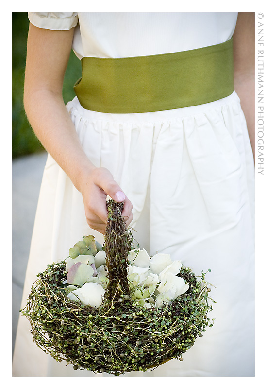 Flower Girl Petal Basket