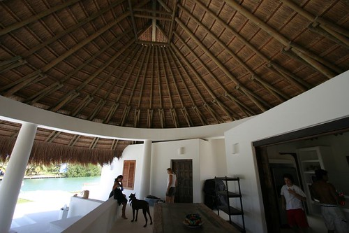 The wonderful holiday house on Isla Barú.